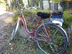 Cykelsadelskydd